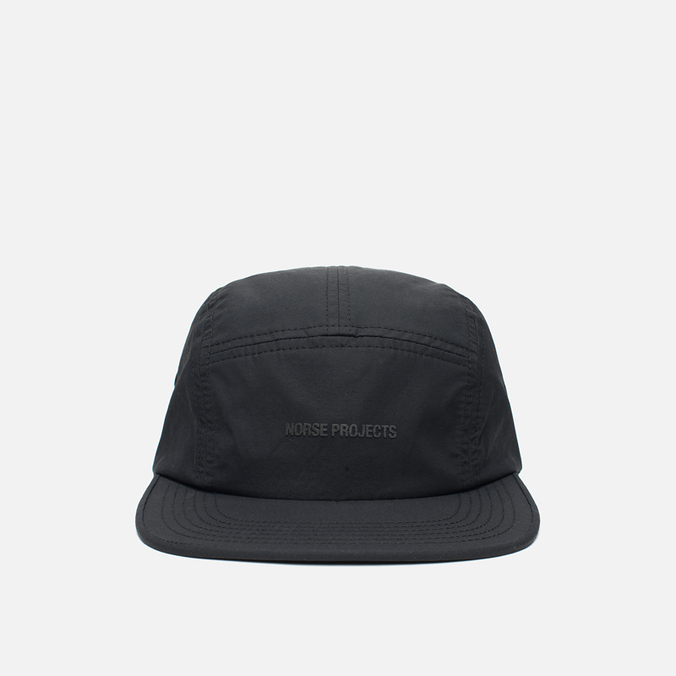 Кепка Norse Projects Light Nylon 5 Panel Black