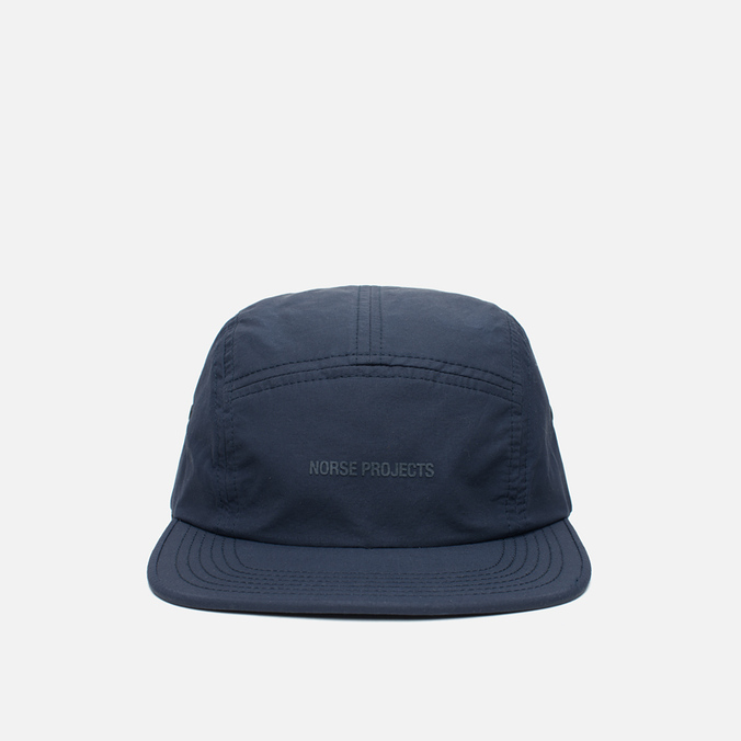 Norse Projects Light Nylon 5 Panel Cap Navy