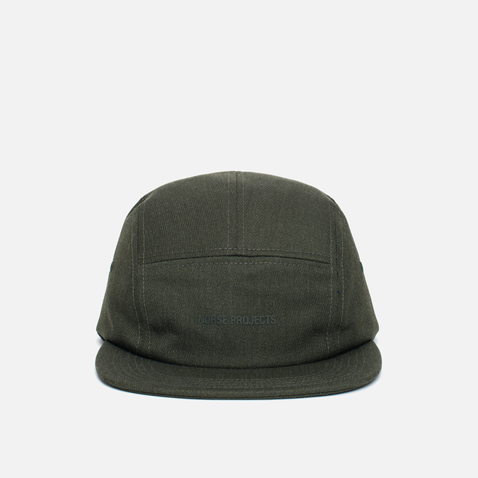 Кепка Norse Projects Loose Twill 5 Panel Dried Olive