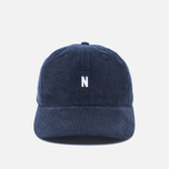Кепка Norse Projects Norse Corduroy Sports Dark Navy фото- 0