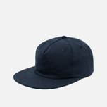 Кепка Norse Projects Organic Canvas Trucker Navy фото- 1