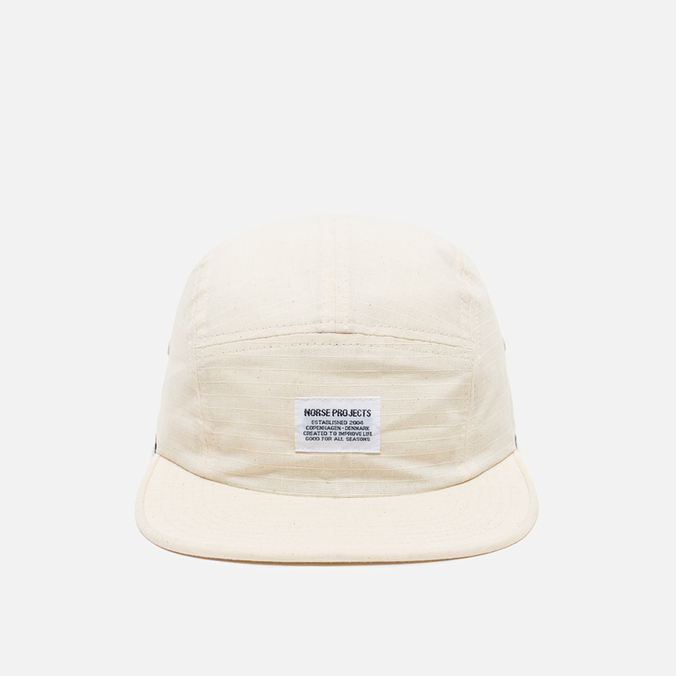 Кепка Norse Projects Ripstop 5 Panel Ecru