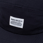 Кепка Norse Projects Ripstop 5 Panel Navy фото- 3