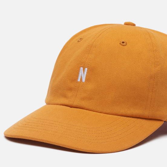 Кепка Norse Projects Twill Sports Cadmium Orange