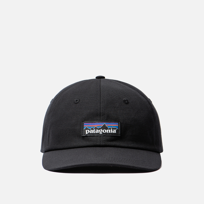 Кепка Patagonia P-6 Label Trad Black