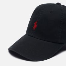 Кепка Polo Ralph Lauren Classic Baseball Black/Red фото- 2