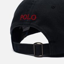Кепка Polo Ralph Lauren Classic Baseball Black/Red фото- 3