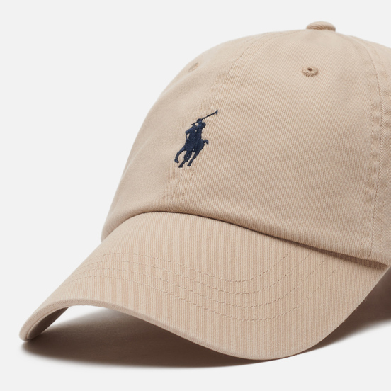 Кепка Polo Ralph Lauren Classic Baseball Nubuck/Relay Blue
