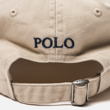 Кепка Polo Ralph Lauren Classic Baseball Nubuck/Relay Blue фото- 3
