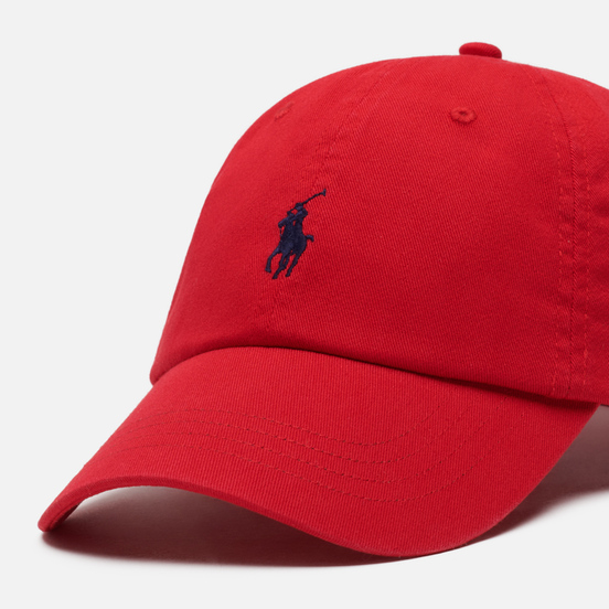 Кепка Polo Ralph Lauren Classic Baseball Red/Blue