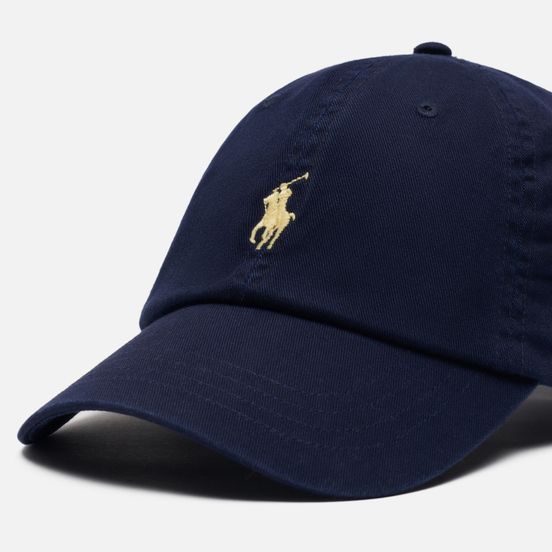 Кепка Polo Ralph Lauren Classic Baseball Relay Blue/Wicket Yellow
