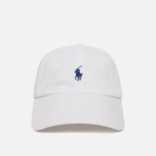 Кепка Polo Ralph Lauren Classic Baseball White/Marlin Blue фото- 0