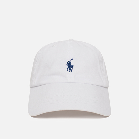 Кепка Polo Ralph Lauren Classic Baseball White/Marlin Blue