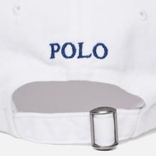 Кепка Polo Ralph Lauren Classic Baseball White/Marlin Blue фото- 3