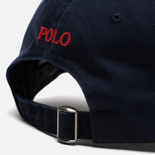 Кепка Polo Ralph Lauren Classic Sport Cotton Chino Aviator Navy фото- 4