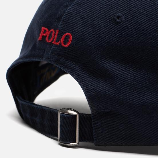 Кепка Polo Ralph Lauren Classic Sport Cotton Chino Aviator Navy