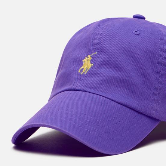 Кепка Polo Ralph Lauren Classic Sport Cotton Chino Cabana Purple