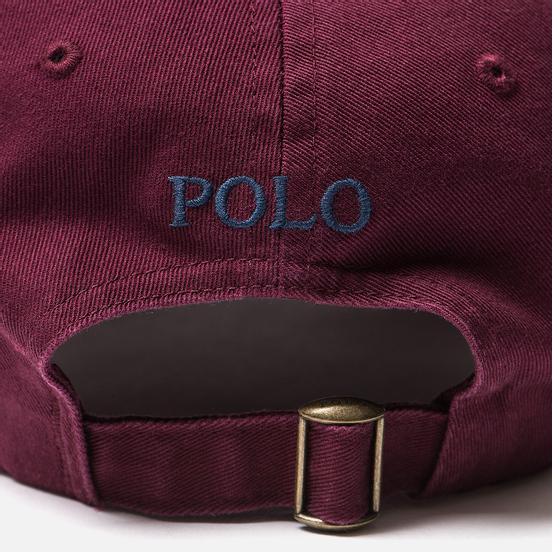 Кепка Polo Ralph Lauren Classic Sport Cotton Chino Classic Wine