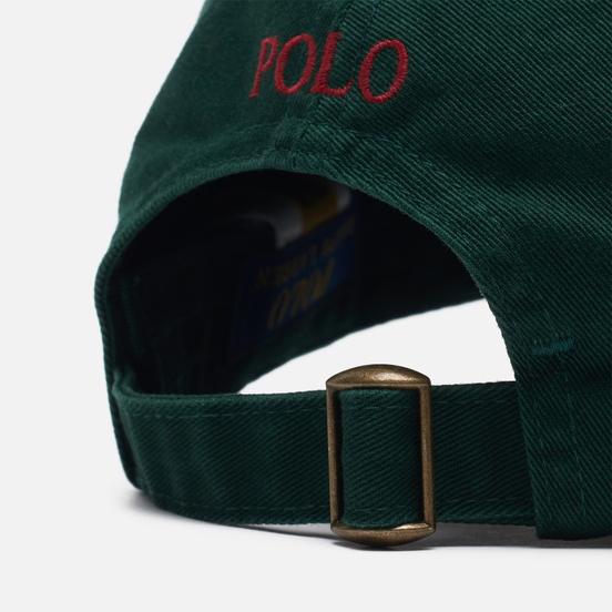 Кепка Polo Ralph Lauren Classic Sport Cotton Chino College Green