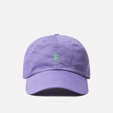 Кепка Polo Ralph Lauren Classic Sport Cotton Chino Hampton Purple
