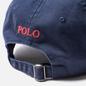 Кепка Polo Ralph Lauren Classic Sport Cotton Chino Newport Navy/Red Pony фото - 3