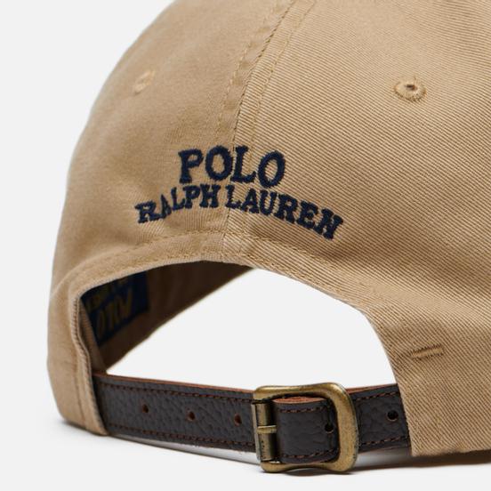 Кепка Polo Ralph Lauren Classic Sport Cotton Twill Luxury Tan