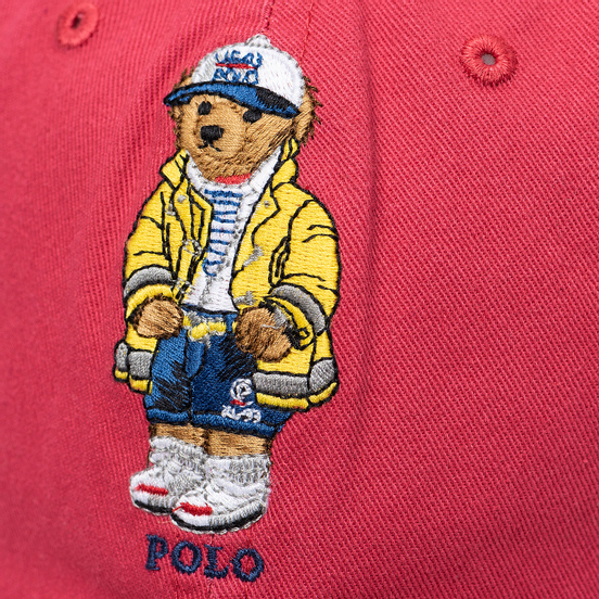 Кепка Polo Ralph Lauren Classic Sport Cotton Twill Nantucket Red