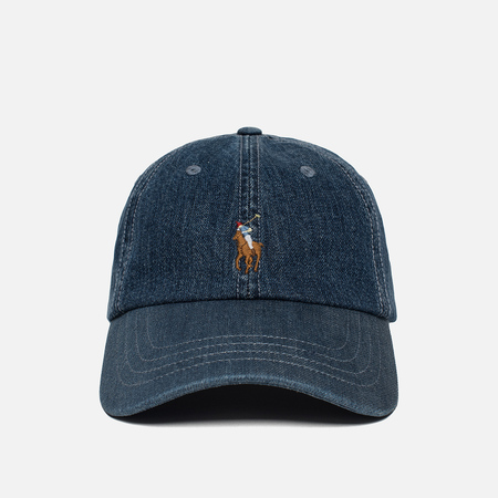 Кепка Polo Ralph Lauren Denim Baseball Medium Wash