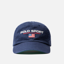 Кепка Polo Ralph Lauren Polo Sport Flag Embroidered Newport Navy фото- 0