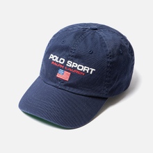 Кепка Polo Ralph Lauren Polo Sport Flag Embroidered Newport Navy фото- 1