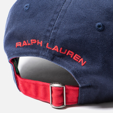 Кепка Polo Ralph Lauren Polo Sport Flag Embroidered Newport Navy фото- 3