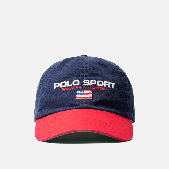 Кепка Polo Ralph Lauren Polo Sport Flag Embroidered Newport Navy/Red