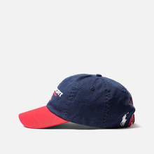 Кепка Polo Ralph Lauren Polo Sport Flag Embroidered Newport Navy/Red фото- 2