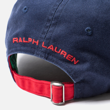 Кепка Polo Ralph Lauren Polo Sport Flag Embroidered Newport Navy/Red фото- 3
