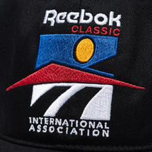 Кепка Reebok Classic Graphic International Association Black фото- 3