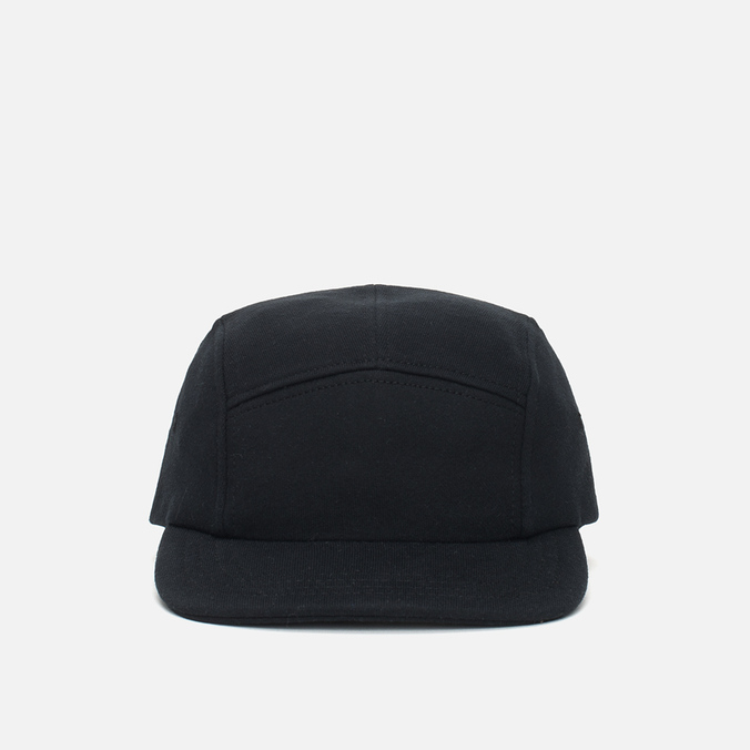 Reigning Champ Midweight Terry 5 Panel Cap Black