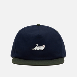 Кепка RIPNDIP Castanza 5 Panel Snapback Navy/Hunter Green