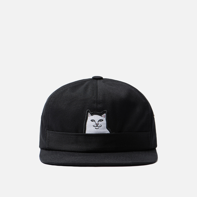 Кепка RIPNDIP Lord Nermal 5 Panel Pocket Black