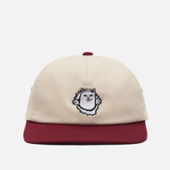 Кепка RIPNDIP Nermamaniac 6 Panel Tan/Burgundy