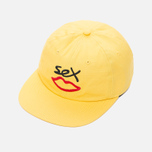 Кепка Sex skateboards Sex Logo 6 Panels Yellow фото- 1