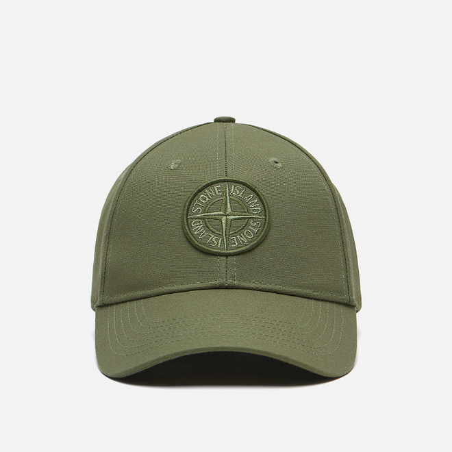 Кепка Stone Island Classic Compass Embroidery Olive Green