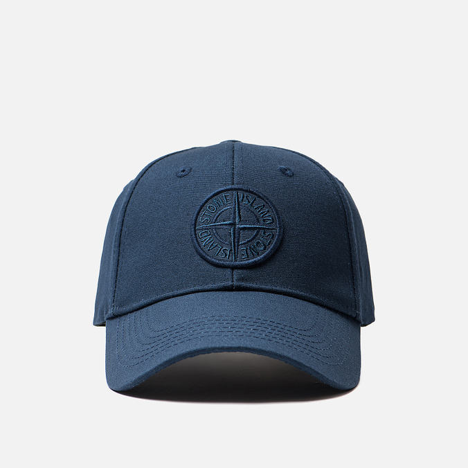 Кепка Stone Island Compass Embroidery Front Marine Blue