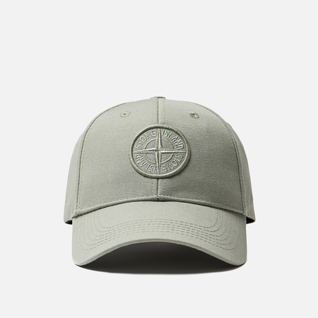 Кепка Stone Island Compass Embroidery Front Sage Green