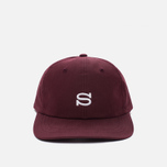 Кепка Stussy Cotton Nylon Burgundy фото- 0