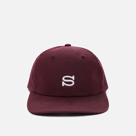 Кепка Stussy Cotton Nylon Burgundy