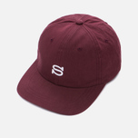 Кепка Stussy Cotton Nylon Burgundy фото- 2