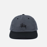 Кепка Stussy Mini Houndstooth Black фото- 0