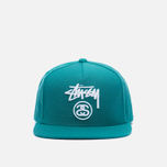 Кепка Stussy Stock Lock HO16 Green фото- 0