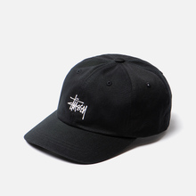 Кепка Stussy Stock Low Pro Embroidered Logo Black фото- 2