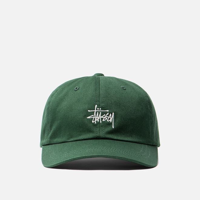 Кепка Stussy Stock Low Pro Embroidered Logo Green